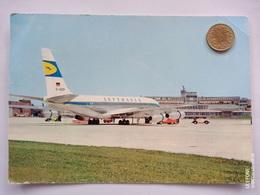 Hamburg, Flughafen, Boeing 707, Lufthansa, 1965 - Eimsbüttel