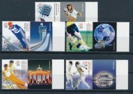GERMANY Mi. Nr. 2439-2443 Sporthilfe: Fußball-Weltmeisterschaft 2006- Used - Gebraucht