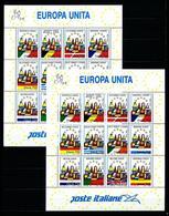 Italia Nº 1987/89 (2 Bloques) Nuevo Cat.36€ - 6. 1946-.. República