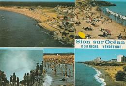 SAINT-HILAIRE DE RIEZ. - Corniche Vendéenne. Multivues. - Saint Hilaire De Riez
