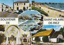 SAINT-HILAIRE DE RIEZ. - SOUVENIR DE.... Multivues Pas Courante - Saint Hilaire De Riez
