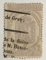 Timbre France Pour Journaux 1869 YT 7 (°) Obl 2c Violet (25 Euros) – 59 - Newspapers
