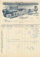 Nota Schijndel 1932 - Kousenfabriek - Niederlande
