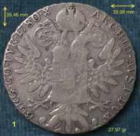 M_p> Colonia Eritrea - Vittorio Emanuele III° - Tallero Di Convenzione - Argento 835 - Coniato A Roma Negli Anni '30 - Colonies