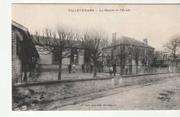 Villevenard ( Marne)  Mairie Et Ecole - France