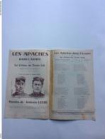Partition Musicale :  Les Apaches Dans L'armée, Le Crime Du Train 826 Et Les Soeurs Pas-candide Antonin Louis - Partitions Musicales Anciennes