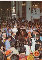 SIENA-PALIO-LA BENEDIZIONE DEL CAVALLO-CARTOLINA VERA FOTOGRAFIA-VIAGGIATA IL 7-4-1994 - Siena