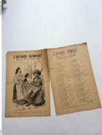 Partition Musicale :  L'affaire HUMBERT Chambournac De Bénavant - Scores & Partitions