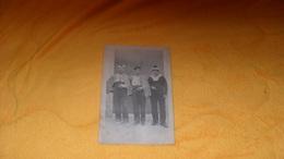 CARTE POSTALE PHOTO ANCIENNE CIRCULEE DE 1917.../ ANOTATION PHILIPPEVILLE ALGERIE..MARINS MILITAIRES ?.. - Algérie