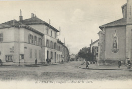 Thaon Les Vosges  Rue De La Gare - Otros Municipios