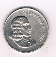 50 CENTS 1966 ZUID AFRICA /9479/ - Zuid-Afrika