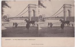 Bv - Cpa Stéreo LORIENT - Le Pont Saint Christophe à KERENTRECH - Lorient
