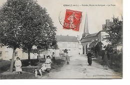 CLERE - Route De Savigné - La Poste - Cléré-les-Pins