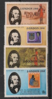 Zambia - 1980 - N°Yv. 209 à 212 - Rowland Hill / London 80 - Neuf Luxe ** / MNH / Postfrisch - Sellos Sobre Sellos