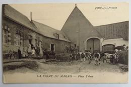C. P. A. : 59 POIX DU NORD : La Ferme Du Marais, Belle Animation, En 1913 - Otros Municipios