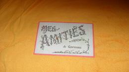 CARTE POSTALE ANCIENNE CIRCULEE DATE ?.../ MES AMITIES DE COURCEAUX...CACHET + TIMBRE - Other Municipalities