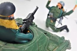 Vintage ACTION MAN : TANK COMMANDER - Green Jacket - Original Hasbro 1974 - Palitoy - GI JOE - Action Man