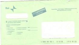 TARIFFA PAGATA RAI - 2001-10: Poststempel