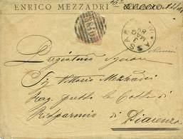 COLONIE > Colonie Eritrea  - Tipologia: B - Eritrea - Da Assab A Piacenza Del 3.5.1889 Con Umberto I C.20 Arancio N.105 - Eritrea