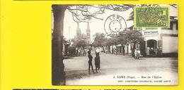 LOME Rue De L'Eglise (Comptoirs Coloniaux André) Togo - Togo