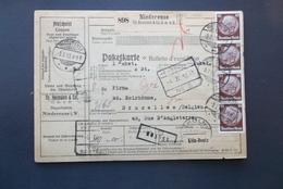 Deutsches Reich: 1933 Card To Belgien (#MW3) - Germany