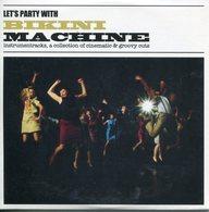 Bikini Machine CD Album - Let's Party With - Edizioni Limitate