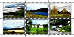 ISLE OF COLONSAY, British Local - 2017 - Six Local Scenes -  Perf 6v Set - M N H. - Local Issues