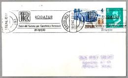 RODATUR - Salon Del TURISMO POR CARRETERA Y FERROCARRIL. Barcelona 1983 - Otros