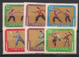 North Vietnam - 1968 - N°Yv. 604 à 609 - Sports Traditionnels - Neuf Luxe ** / MNH / Postfrisch - Vietnam