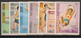 Vietnam - 1983 - N°Yv. 435 à 441 - Olympics / Los Angeles - Neuf Luxe ** / MNH / Postfrisch - Vietnam
