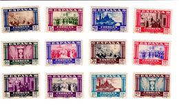 Espagne - 1940 - Virgen Del Pilar - CORREO AEREO - Série - 1931-Aujourd'hui: II. République - ....Juan Carlos I