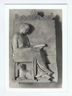 GROTTAFERRATA (RM):  BADIA  GRECA  -  STELE  ATTICA  -  FOTO  -  FG - Musei