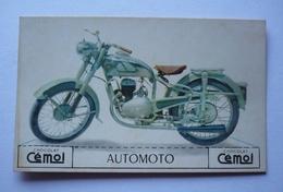 MOTO ANCIENNE AUTOMOTO  - IMAGE  CARTON CHOCOLAT CEMOI - Motorbikes