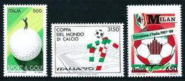 Italia Nº 1781/3 Nuevo Cat.9,50€ - 6. 1946-.. República
