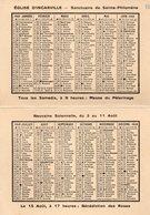 27-CARTE SANCTUAIRE DE SAINTE-PHILOMENE - EGLISE D'INCARVILLE - Autres Communes
