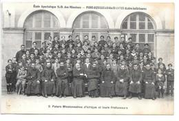 Cpa..Pont-Rousseau-les-Nantes...futurs Missionnaires D'Afrique Et Leurs Professeurs....animée.... - Frankrijk