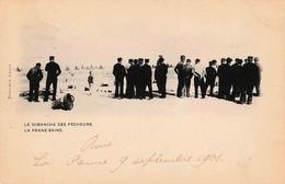 La Panne Bains Le Dimanche Des Pêcheurs En 1901 Devolder Sœurs - De Panne