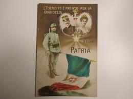 1915 L'esercito è Pronto Per La Grandezza Re Vittorio E.Savoia E Regina - War 1914-18