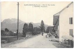 Cpa...Saint-Jorioz...(Hte-Savoie)...hotel Du Pont Laudon...J.Terrier, Propriétaire...animée... - Andere Gemeenten