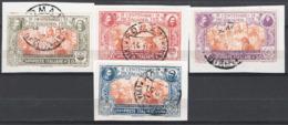 Italia Regno 1923 Sass.131/34 O/Used VF/F - Afgestempeld