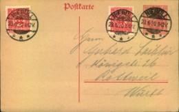 """1920, SCHLESWIG: 10 Pfg. Germania GSK Als Miläufer Mit Zusatzfrankatur """"NIEBÜLL 23.6.20"""" - Alemania"""