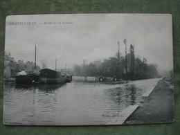 CHATELINEAU - BORDS DE LA SAMBRE 1907 ( Péniche ) - Charleroi