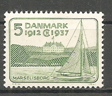 DK  Yv. N°  249  ** MNH   5o  Jubilé Du Roi   Cote  4 Euro  BE R  2 Scans - 1913-47 (Christian X)