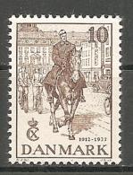 DK  Yv. N°  250  ** MNH   10o  Jubilé Du Roi   Cote  4 Euro  TBE   2 Scans - 1913-47 (Christian X)