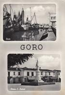 Emilia Romagna - Ferrara - Goro - 2 Belle Vedute Della Località  - F. Grande - Anni 60 - Molto Bella - Andere Städte