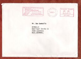 Brief, TNT Mailfast, Air Mail, PP Bruxelles 1987 (88602) - Otros