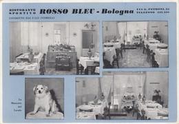 Emilia Romagna - Bologna - Ristorante Rosso Blue  -  4 Vedute - F. Grande - Anni 60 - Bella- Non Comune - Bologna