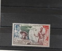 ST PIERRE ET MIQUELON  Yvert PA 21 * - Neuf Avec Charnière - Unused Stamps