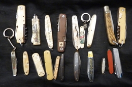 Lot De 20 Couteaux Ancien Divers - Cuchillos