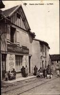 Cp Nouic Haute Vienne, La Poste - Francia